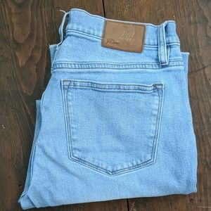J. Crew Slim Broken In Boyfriend Raw Hem Jeans